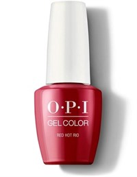 "GCA70A OPI GelColor ProHealth Red Hot Rio, 15 мл. - гель лак OPI ""Горячий Рио"""
