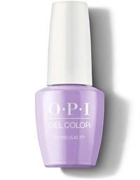 "GCB29A OPI GelColor ProHealth Do You Lilac It?, 15 мл. - гель лак OPI ""Ты что, сиреневый?"""
