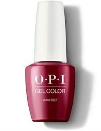 """GCB78A OPI GelColor ProHealth Miami Beet, 15 мл. - гель лак OPI """"Свекольный Майами"""""""