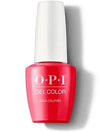 "GCC13A OPI GelColor ProHealth Coca-Cola Red, 15 мл. - гель лак OPI ""Кока-кола"""