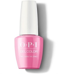 "GCF80A OPI GelColor ProHealth Two Timing the Zones, 15 мл. - гель лак OPI ""Две временные зоны"""