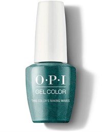 "GCH74A OPI GelColor ProHealth This Color's Making Waves, 15 мл. - гель лак OPI ""Цвет волны"""