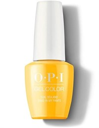 "GCL23 OPI GelColor ProHealth Sun, Sea and Sand In My Pants, 15 мл. - гель лак OPI ""Солнце, море и песок в штанах"""