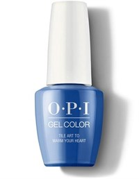 "GCL25 OPI GelColor ProHealth Tile Art to Warm Your Heart, 15 мл. - гель лак OPI ""Фрески согревают сердце"""