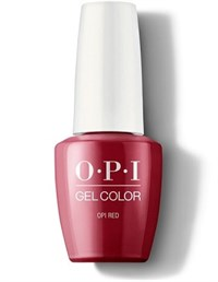 "GCL72A OPI GelColor ProHealth OPI Red, 15 мл. - гель лак OPI ""Красный"""