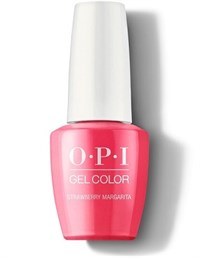 "GCM23A OPI GelColor ProHealth Strawberry Margarita, 15 мл. - гель лак OPI ""Клубничная Маргарита"""