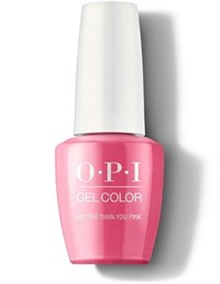 """GCN36A OPI GelColor ProHealth Hotter Than You Pink, 15 мл. - гель лак OPI """"Горячее, чем розовое"""""""