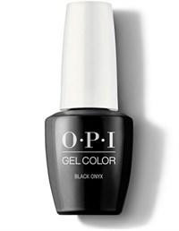 "GCT02A OPI GelColor ProHealth Black Onyx, 15 мл. - гель лак OPI ""Чёрный Оникс"""
