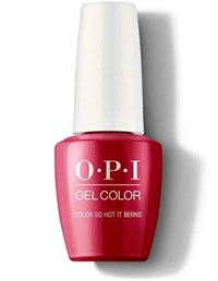 "GCZ13A OPI GelColor ProHealth Color So Hot It Berns, 15 мл. - гель лак OPI ""Так жарко в Берне"""