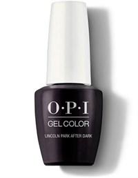 "GCW42A OPI GelColor ProHealth Lincoln Park After Dark, 15 мл. - гель лак OPI ""Линкольн Парк после темноты"""