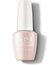 "GCW57A OPI GelColor ProHealth Pale to the Chief, 15 мл. - гель лак OPI ""Пале-шефу"""