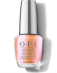 "ISLSR1 OPI Infinite Shine Coral Chroma, 15 мл. - лак для ногтей ""Коралловый хром"""