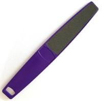 CND Mylar Foot File, 80/100 - Пилка педикюрная, фиолетовая FPDLM