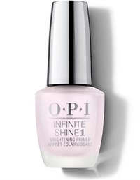 OPI Infinite Shine Brightening Primer, 15 мл. - базовое покрытие осветляющее ногти для лака Инфинити Шайн