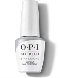OPI GelColor Stay Strong Base Coat, 15 мл. - укрепляющая база для гель лака