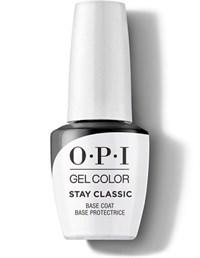 OPI GelColor Stay Classic Base Coat, 15 мл. - база для гель лака классическая