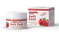 Gehwol Fusskraft Soft Feet Butter Pomegranate & Moringa, 100 мл. - крем-баттер для ног с ароматом граната и моринга