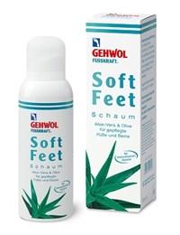 "Gehwol Fusskraft Soft Feet Schaum Aloe Vera & Olive, 125 мл. - пенка с гилауроновой кислотой ""Алоэ Вера и масло оливы"" Фусскрафт"