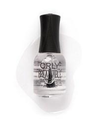"Orly Breathable Treatment + Shine, 15 мл. - прозрачное покрытие ОРЛИ ""Укрепление и блеск"""