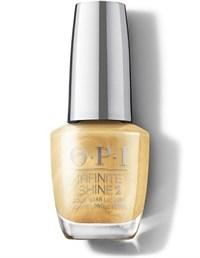 "HRM40 OPI Infinite Shine This Gold Sleighs Me, 15 мл. - лак для ногтей ""Золотой уносит меня"""