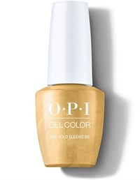 """OPI GelColor ProHealth This Gold Sleighs Me, 15 мл. - гель лак OPI """"Эти золотые сани мои"""""""