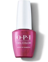"OPI GelColor ProHealth Merry In Cranberry, 15 мл. - гель лак OPI ""Веселая клюква"""