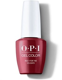 """OPI GelColor ProHealth Red-y For The Holidays, 15 мл. - гель лак OPI """"Готов к праздникам"""""""