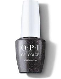 "OPI GelColor ProHealth Heart And Coal, 15 мл. - гель лак OPI ""Сердце и уголь"""