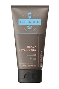 KAYPRO Beard Club Black Styling Gel, 150 мл. - чёрный гель для укладки волос