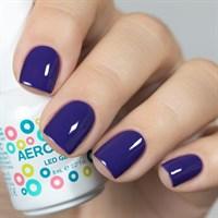 Aeropuffing LED Gel Polish №029, 8 мл. - цветной гель лак #029 Аэропуффинг, сине-фиолетовый