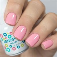 Aeropuffing LED Gel Polish №031, 8 мл. - цветной гель лак #031 Аэропуффинг, розовый
