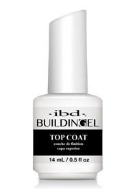 IBD LED/UV Building Gel Top Coat, 14 мл. - топ гель, закрепитель для геля