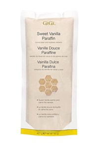 Парафин для рук GiGi Sweet Vanilla Paraffin, 453 г. с ароматом сладкой ванили
