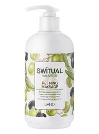 Массажный крем BANDI Switual Refining Massage, 500 мл. для кожи рук с эффектом лифтинга