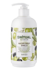 Гелевый лосьон BANDI Switual Water Drop Shield, 500 мл. для кожи рук, удерживающий влагу