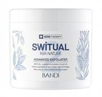 Гель-скраб BANDI Switual Advanced Exfoliater, 450мл. с минералами и мятой для спа-педикюра