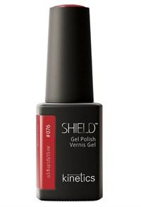 """Kinetics Shield Gel Polish Bonnie Red, 15 мл. - гель лак Кинетикс №076 """"Красный цвет Бонни"""""""