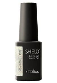 "Kinetics Shield Gel Polish Silver Fairy Dust, 15 мл. - гель лак Кинетикс №101 ""Волшебный порошок"""
