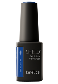 "Kinetics Shield Gel Polish Fashion Blue, 15 мл. - гель лак Кинетикс №159 ""Модный синий"""