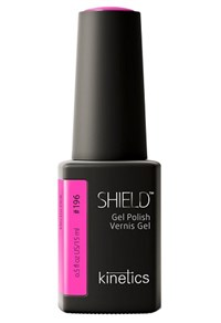 "Kinetics Shield Gel Polish Electro Pink, 15 мл. - гель лак Кинетикс №196 ""Электро-розовый"""