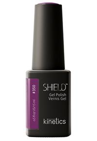 "Kinetics Shield Gel Polish Purple Haze, 15 мл. - гель лак Кинетикс №350 ""Сиреневый туман"""