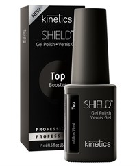 KGPTFN02 Kinetics Shield Booster Tack Free Top Coat, 15 мл. - топ без липкого слоя для гель лака против пожелтения
