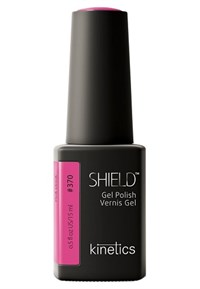 """Kinetics Shield Gel Polish Pink Drink, 15 мл. - гель лак Кинетикс №370 """"Розовый напиток"""""""