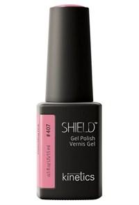 """Kinetics Shield Gel Polish Pretending Pink, 15 мл. - гель лак Кинетикс №407 """"Претендующий розовый"""""""