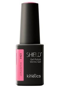 """Kinetics Shield Gel Polish Unfollow Pink, 15 мл. - гель лак Кинетикс №423 """"Отпишись от розового"""""""