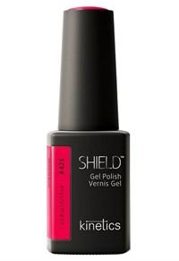 "Kinetics Shield Gel Polish RedHashtag, 15 мл. - гель лак Кинетикс №425 ""Красный Хэштег"""