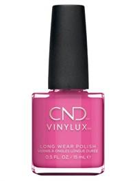 Лак для ногтей CND VINYLUX #121 Hot Pop Pink, 15 мл. профессиональное покрытие
