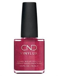 Лак для ногтей CND VINYLUX #139 Red Baroness, 15 мл. профессиональное покрытие