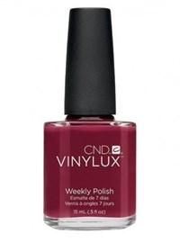 Лак для ногтей CND VINYLUX #145 Scarlet Letter, 15 мл. профессиональное покрытие