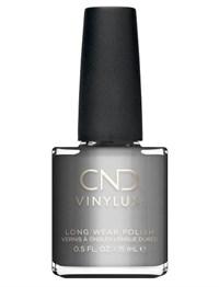 Лак для ногтей CND VINYLUX #148 Silver Chrome, 15 мл. профессиональное покрытие